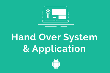 Hand Over System & Application