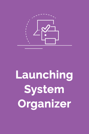 Launching System Organizer